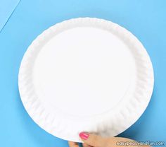 Rocking Paper Plate Bunny - Easy Peasy and Fun Monkey Crafts, Bird Crafts, Bunny Crafts, Easter Crafts For Kids, Paper Plate Crafts, Paper Plates, Craft Activities For Toddlers, Eye Stickers, Reindeer Craft