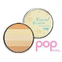 BRAND NEW NEVER TESTED OR USED! $10  FACTORY SEALED!    Pop Beauty Conceal and Correct Pressed Mineral Powder Cake      Product Features      5 concealing and corrective mineral powders in one handy tin  Blend all together to get a corrective effect and set you...