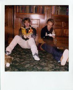Rupert Grint & Tom Felton for Band of Outsiders Fall 2011