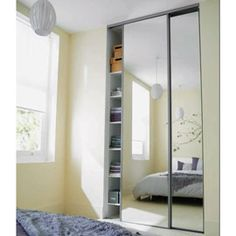 portes de placard miroir sur pinterest placard porte. Black Bedroom Furniture Sets. Home Design Ideas