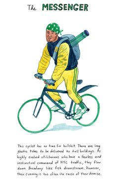 Which New York City Cyclist Would You Be?