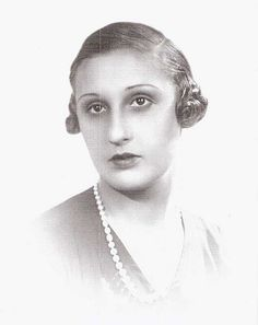 Ioana Dumitrescu-Doletti, 1st wife of Prince Nicholas.  She was a divorcee and Nicholas knew it would be embarrassing for his brother, King Carol II, to approve the union.  Carol implied that if Nicholas just got married he'd accept the marriage as a fait accompli.  Nicholas did that but Carol then used the marriage to strip Nicholas of his royal titles and privileges and exile him from Romania forever.