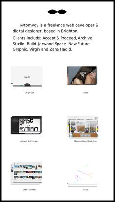 Website 'http://www.tomvdv.com/2012/'