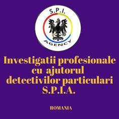 SPIA DETECTIV ROMANIA: Agentie detectivi particulari S.P.I.A. in Romania