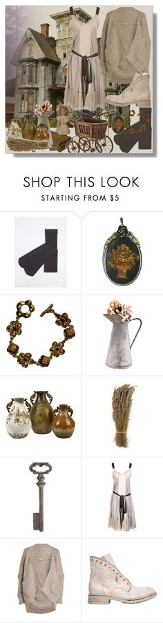 """""""Untitled #95"""" by shewalksinsilence ❤ liked on Polyvore featuring Dorothy Perkins, Kenzo, Thirstystone, Jean-Paul Gaultier, Mes Demoiselles... and FRUIT"""