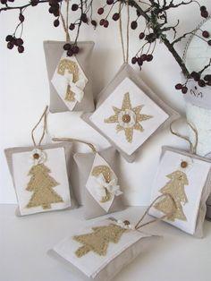 CLEARANCE Serenity Handmade Christmas Ornament by BellaMiaDesign