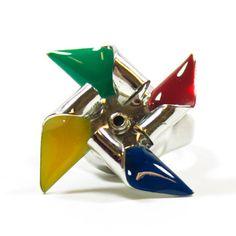 Carolyn Forsman - Pinwheel Ring