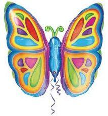 Jij lijkt wel een vlinder geen rust te kunnen vinden je blijft maar draaien op je plek de lange, een echte ADHD vlinder..