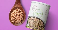 Cooking made easy! People love NOT having to thaw, cook, degrease, and waste excellent ground beef. Freeze Dried Meat, Freeze Drying, Thrive Life, Lean Protein, Ground Beef, Dog Food Recipes, Make It Simple, Frozen, Cooking