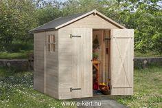 Kerti szerszámtároló 345/3 - Weka - minőségi német faipari termékek. szauna, medence, garázs, kerti pavilon
