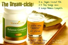 Young Living: Balance Complete Dream-cicle recipe by Melissa Blaske - Screw losing weight - I don't want to find it again! I want to RELEASE IT for good! Cooking With Essential Oils, Yl Essential Oils, Young Living Essential Oils, Essential Oil Blends, Smoothies For Kids, Good Smoothies, Organic Coconut Milk, Almond Milk, Nourishing Traditions