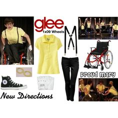 """New Directions (Glee) : Proud Mary"" by aure26 on Polyvore"