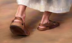 """Go where Jesus walked. """"And the disciples went everywhere and preached, and the Lord worked through them, confirming what they said by many miraculous signs. Religious Pictures, Jesus Pictures, Religious Art, King Jesus, God Jesus, Christian Movies, Christian Art, Bible Art, Lds Art"""