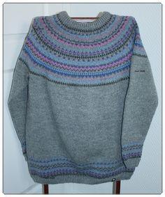 For lenge, lenge siden, viste jeg fram starten på dette strikketøyet. Nå er det ikke et strikketøy lenger, men en ferdig genser. ...