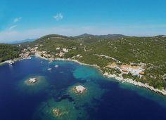 Die Badebucht von #Sadurad auf der Insel Šipan #adria #mittelmeer #meer #mediterranean #reise #croatia #kroatien #insel #urlaub #familienferien #travelwithkids #vamosreisen