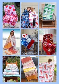 A Beginner's Guide to Rag Quilting by Christine Mann Rag Quilt Patterns, Pillow Patterns, Mccalls Patterns, Quilting For Beginners, Quilting Tips, Machine Quilting, Scrappy Quilts, Easy Quilts, Quilt Labels