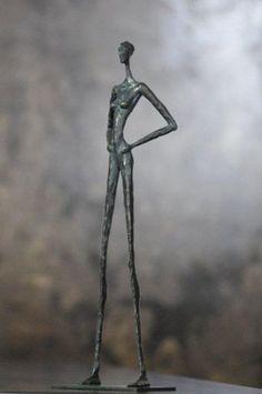54 Surrealist Approach Sculpture Design Ideas - New Human Sculpture, Sculpture Metal, Paper Mache Sculpture, Pottery Sculpture, Art En Acier, Proportion Art, African Figurines, Sculptures Sur Fil, Metal Garden Art