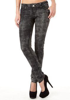 Almost Famous Plaid Jean