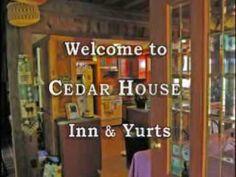 Video of Cedar House Inn and Yurts eco friendly bed and breakfast, Dahlonega, GA.