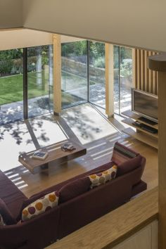 Geschwungenes Haus Innendesign Wohnbereich Möbel Modern | Architektur |  Pinterest
