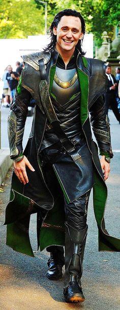 "Tom Hiddleston as ""Loki"", The Avengers, New York 2.9.2011"