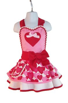 Schön Valentine Apron Chocolate Candy Apron Womens By WellLaDiDaAprons | Well La  Di Da Aprons | Pinterest | Apron, Retro Apron And Wraps