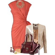 Nice summer outfit for work or Church.