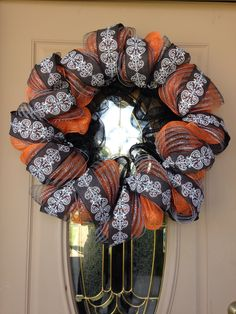 Another view of my Fall wreath...