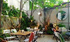 grünoasen in wien Patio, Outdoor Decor, Plants, Home Decor, Vienna, Travelling, Restaurants, Hidden Places, Environment