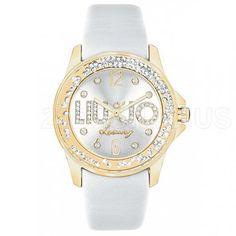 Liu Jo Luxury Dancing Bianco Gold Orologio Donna TLJ509 793d09082de
