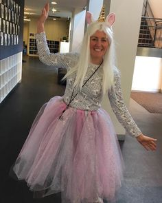 🦄🦄🦄 Thelma the Unicorn Bookweek Costumes For Teachers, Teacher Costumes, Fall Halloween, Halloween Costumes, Book Character Day, Book Week Costume, Unicorn Costume, School Dresses, Children's Literature