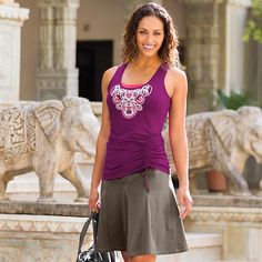 Whatever Skort - The wicking and quick-drying Featherweight Stretch™ skort thats perfect for the hiker, the golfer, the adventurista, and the urban mover-and-shaker in all of us.
