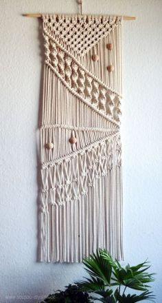 DIY Boho Style - ein selbstgemachtes Makramee Wandbehänge |