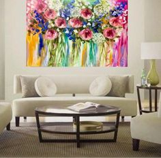 Hand painted with acrylic , ink and oil on artist canvas made to the highest standard. Simply the best products are used to ensure they are among the finest str Artist Canvas, Canvas Art, Small Flowers, Tapestry, Hand Painted, Graphic Design, The Originals, My Favorite Things, Floral