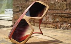 Urban Spectacles - wooden specs Wooden Sunglasses, Specs, Urban, Fashion, Moda, Fashion Styles, Fashion Illustrations