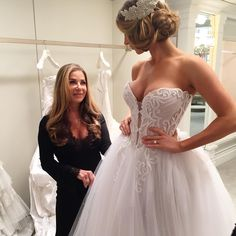 A behind-the-scenes look at Pnina Tornai's photo-shoot with Glamour Magazine