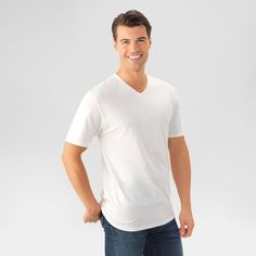 Fruit of the Loom Men's T-Shirt - White S, new