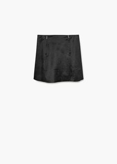 Falda cremallera  | MANGO