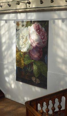 Dew 130×280 cm Hand Painted Ornaments, Murals, Fine Art, Creative, Painting, Wall Murals, Painting Art, Paintings, Paint