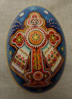 pysanky/pysanka Ukrainian Easter eggs by Tula_Bee Ukrainian Easter Eggs, Ukrainian Art, Egg Crafts, Easter Crafts, Carved Eggs, Easter Egg Designs, Faberge Eggs, Egg Art, Egg Decorating