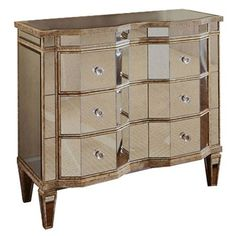 You'll love the Mirrored 3 Drawer Chest at Perigold. Enjoy white-glove delivery on large items.