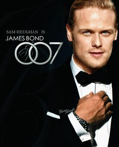 "pluez: "" genoacedo: ""A perfect Bond…James Bond ️ @SamHeughan @007 "" Oh yeah, I'd buy a ticket to see that! "" You did a great job with this @genoacedo!"