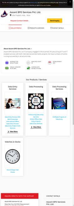 Data Entry Projects, Company Profile, Company Profile Design