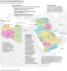 Slowly, the map of the Middle East could be redrawn. An analysis by Robin Wright.