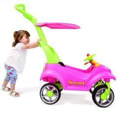 Mini Veículo Smart Baby- Rosa/Verde