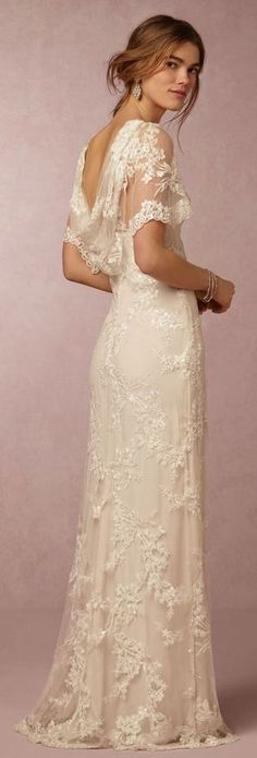 BHLDN Wedding Dress More #weddingdress