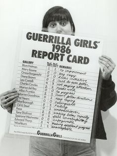 The Guerrilla Girls: 30 years of punking art world sexism Vintage Posters, Vintage Photos, Guerrilla Girls, Marian Goodman, Feminist Men, New York Galleries, Protest Posters, Political Spectrum, Donate To Charity
