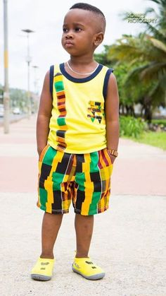 Kitenge Designs for See Over 150 Kitenge Design Photos Baby African Clothes, African Dresses For Kids, African Children, African Men Fashion, African Print Dresses, African Wear, Latest African Fashion Dresses, Young Children, Black Kids Fashion