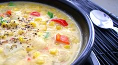 Fiesta Corn & Potato Chowder