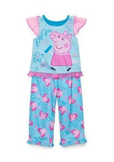 15a4ef4cba 2-Piece Character Pajama Set Toddler Girls